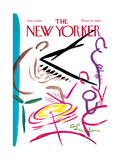The New Yorker Cover - January 6, 1968 Giclee Print by Abe Birnbaum