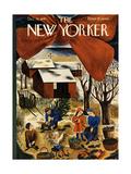 The New Yorker Cover - December 13, 1941 Regular Giclee Print by Ilonka Karasz