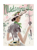 Mademoiselle Cover - July 1936 Regular Giclee Print by Helen Jameson Hall