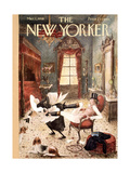 The New Yorker Cover - March 1, 1958 Giclee Print by Mary Petty