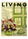 Living for Young Homemakers Cover - July 1960 Regular Giclee Print by John Bendixsen