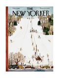 The New Yorker Cover - February 3, 1951 Regular Giclee Print by Ilonka Karasz