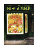 The New Yorker Cover - February 14, 1953 Giclee Print by Edna Eicke