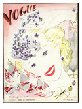 Vogue Cover - May 1935 Giclée-Druck von Marcel Vertes