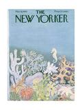 The New Yorker Cover - March 16, 1963 Regular Giclee Print by Ilonka Karasz