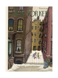 The New Yorker Cover - February 2, 1946 Giclee Print by Edna Eicke