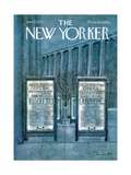 The New Yorker Cover - January 27, 1973 Regular Giclee Print by Laura Jean Allen