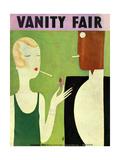 Vanity Fair Cover - January 1930 Giclee Print by Eduardo Garcia Benito