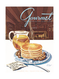 Gourmet Cover - November 1944 Regular Giclee Print by Henry Stahlhut