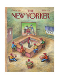 The New Yorker Cover - October 19, 1987 Regular Giclee Print by John O'brien