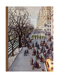 The New Yorker Cover - March 14, 1953 Giclee Print by Arthur Getz