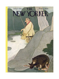 The New Yorker Cover - June 21  1947