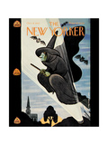 New Yorker Cover - October 31, 1942 Giclee Print by Rea Irvin
