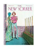 The New Yorker Cover - June 16, 1975 Giclee Print by Charles Saxon