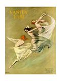 Vanity Fair Cover - August 1924 Regular Giclee Print by Warren Davis
