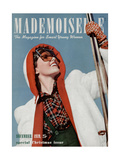 Mademoiselle Cover - December 1939 Regular Giclee Print by Paul D'Ome