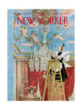The New Yorker Cover - September 24, 1955 Giclee Print by Mary Petty