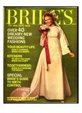 Brides Cover - August 1968 Regular Giclee Print by Rik Van Glintenkamp