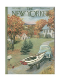 The New Yorker Cover - October 11, 1958 Giclee Print by Arthur Getz