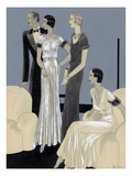 Vogue - November 1930 Regular Giclee Print by William Bolin