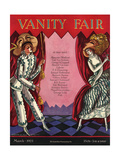 Vanity Fair Cover - March 1925 Regular Giclee Print by Joseph B. Platt