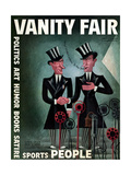 Vanity Fair Cover - April 1932 Regular Giclee Print by Miguel Covarrubias