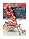 Gourmet Cover - September 1948 Giclee Print by Henry Stahlhut
