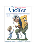 The American Golfer April 23, 1921 Lámina giclée de primera calidad por Flagg, James Montgomery
