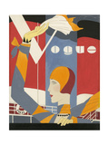 Vogue - October 1927 Regular Giclee Print by Eduardo Garcia Benito