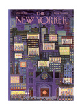 The New Yorker Cover - December 16, 1961 Regular Giclee Print by Ilonka Karasz