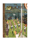 The New Yorker Cover - August 21, 1943 Giclee Print by Ludwig Bemelmans