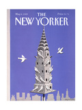 The New Yorker Cover - May 8, 1989 Giclee Print by Kathy Osborn