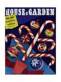 House & Garden Cover - December 1939 Reproduction procédé giclée par  Whiting & Fellowes