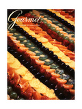 Gourmet Cover - November 1983 Regular Giclee Print by Ronny Jacques
