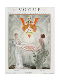 Vogue - January 1923 Giclee Print by Georges Lepape & Pierre Brissaud