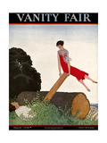 Vanity Fair Cover - March 1926 Regular Giclee Print by André E. Marty