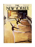 The New Yorker Cover - February 1, 1964 Regular Giclee Print by Arthur Getz