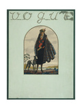 Vogue - February 1922 Regular Giclee Print by Leslie Saalburg