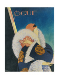 Vogue - January 1927 Regular Giclee Print by George Wolfe Plank