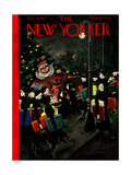 The New Yorker Cover - December 13, 1947 Giclee Print by Christina Malman