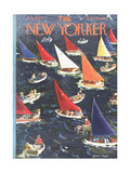 The New Yorker Cover - August 9, 1952 Giclee Print by Garrett Price