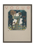 Vogue - September 1922 Regular Giclee Print by Leslie Saalburg