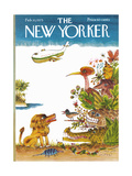 The New Yorker Cover - February 10, 1975 Regular Giclee Print by Joseph Low