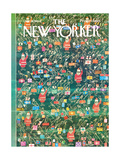 The New Yorker Cover - December 19, 1964 Premium Giclee Print by Anatol Kovarsky
