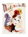 Mademoiselle Cover - September 1936 Regular Giclee Print by Helen Jameson Hall