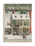 The New Yorker Cover - December 21, 1946 Regular Giclee Print by Edna Eicke