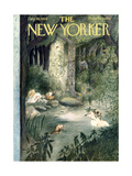 The New Yorker Cover - July 10, 1954 Giclee Print by Mary Petty