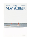 The New Yorker Cover - July 31, 1978 Giclee Print by Gretchen Dow Simpson