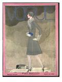 Vogue Cover - September 1928 Regular Giclee Print van Georges Lepape
