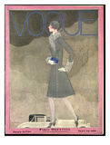 Vogue Cover - September 1928 Regular Giclee Print by Georges Lepape